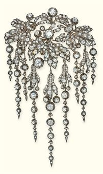 Antique_Diamond_Brooch_En_pampille