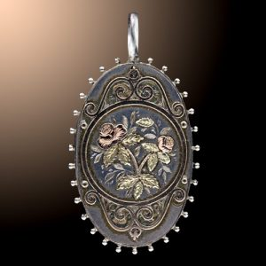 Applique Victorian Locket