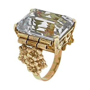 Aquamarine Yellow Gold Ring.jpg