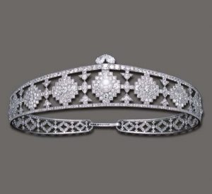 Cartier Art Deco Diamond Bandeau, circa 1924.