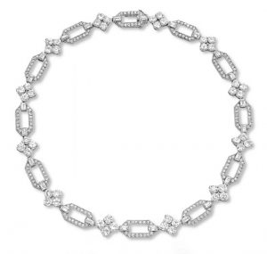 Art Deco Diamond Collar, c.1930.