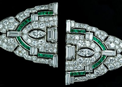 Art_Deco_Diamond_Emerald_Clip_Brooch