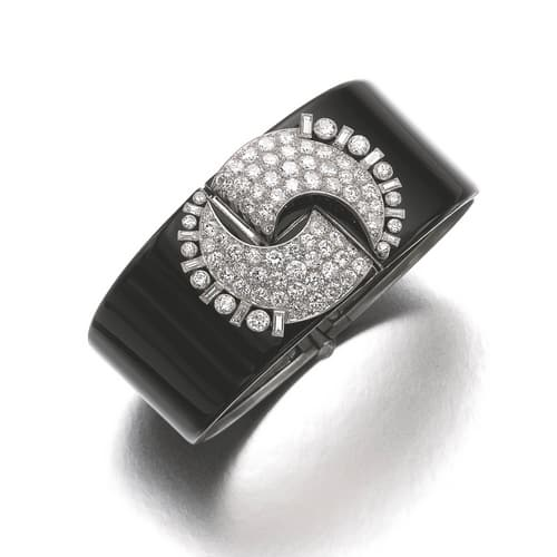 Art Deco Diamond Lacquer Bracelet.jpg