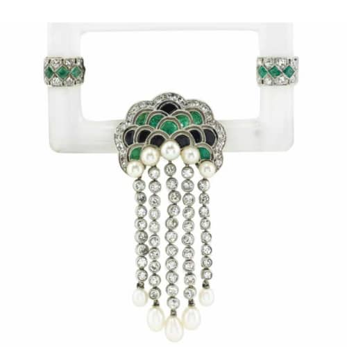Art Deco Gemstone Brooch.jpg