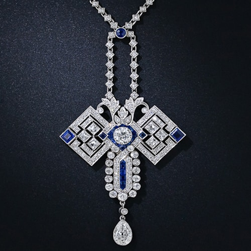 Art Deco Sapphire Diamond Necklace.jpg