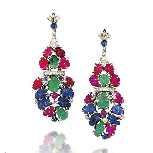 Art Deco Tutti Frutti Earrings.jpg
