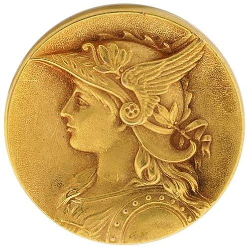 Art Nouveau Medal Jewels