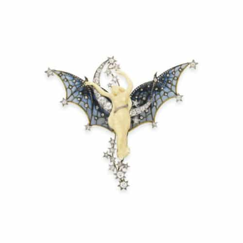 Art Nouveau Ivory Diamond Brooch.jpg