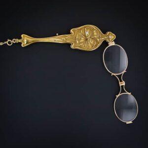 Art Nouveau Lorgnette. Image courtesy of Lang Antiques
