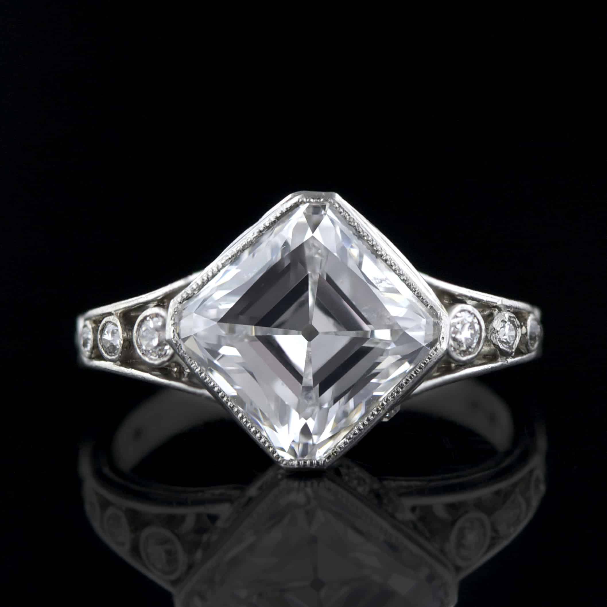 Asscher Cut D Flawless Golconda Diamond Ring.jpg