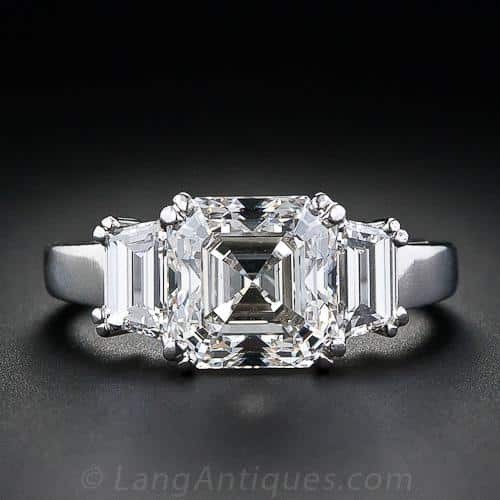 Asscher Cut Diamond Engagement Ring.jpg