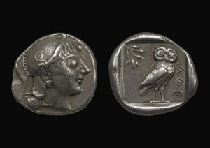 Athenian Drachm Date: 594BC-527BC