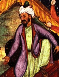 The first Emperor of the Mogul Empire, Babur.