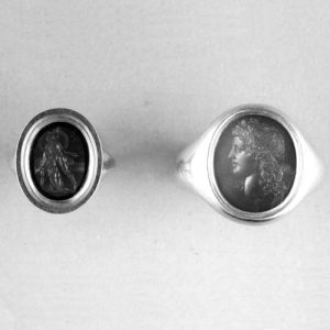 17th Century Memento Mori Silver Finger-Ring. © The Trustees of the British Museum.
