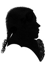 Silhouette of a Young Beethoven, 18th Century.