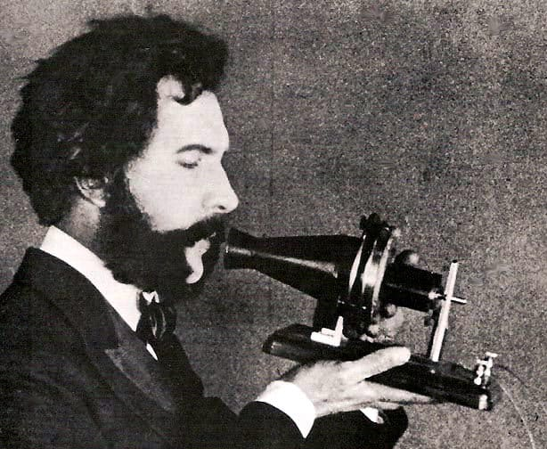 Bell Speaking into Telephone.jpg