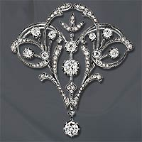 Belle Epoque French Diamond Brooch.jpg