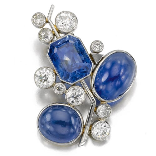 Belperron Sapphire and Diamond Brooch.jpg