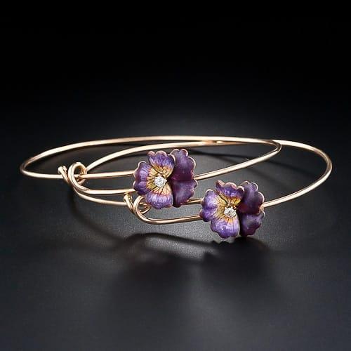 Billet-Deux_Victorian_Pansy_Bracelets