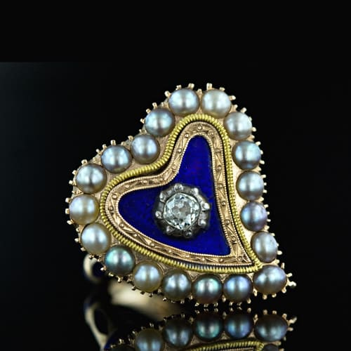 Blue Enamel Heart.jpg