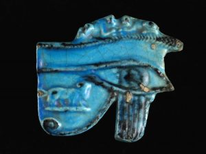 Egyptian Blue Glazed Pectoral BC.