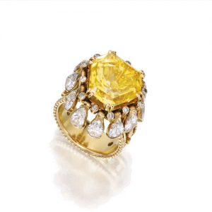 René Boivin Pampilles Ring. Photo Courtesy of Sotheby's.