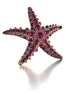 Boivin Starfish Brooch.