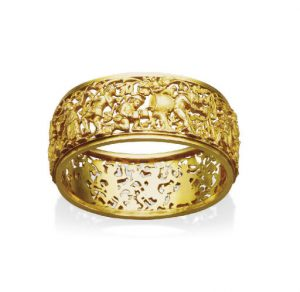 Boucheron Danse Flamande Gold Bracelet c.1890. Photo Courtesy of Christie's