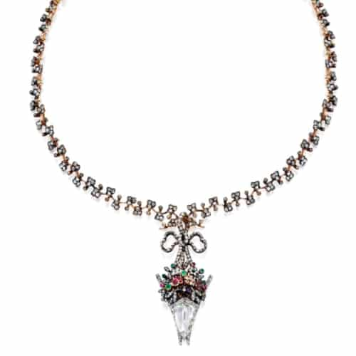 Boucheron Silver Topped Necklace.jpg
