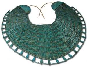 Broad Collary Necklace of Wah, Egyptian.