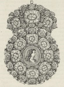 Brooch Design, c.1723.