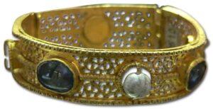 Byzantine Bangle Bracelet.