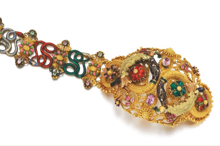 Cannetille and Enamel Bracelet.jpg