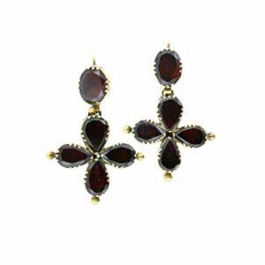 Garnet Earrings.