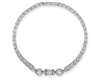 Cartier Art Deco Diamond Necklace, c.1925.