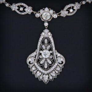 Art Deco Diamond Necklace, Cartier, circa 1929.