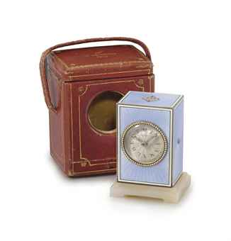 Cartier_Enamel_Clock_Circa_1910