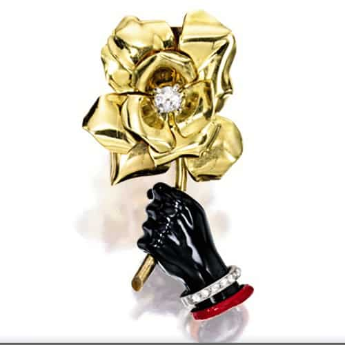 Cartier Retro Enamel Diamond Brooch.jpg