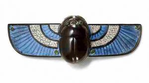 Cartier Scarab Brooch. Photo Courtesy of Cartier Collection.