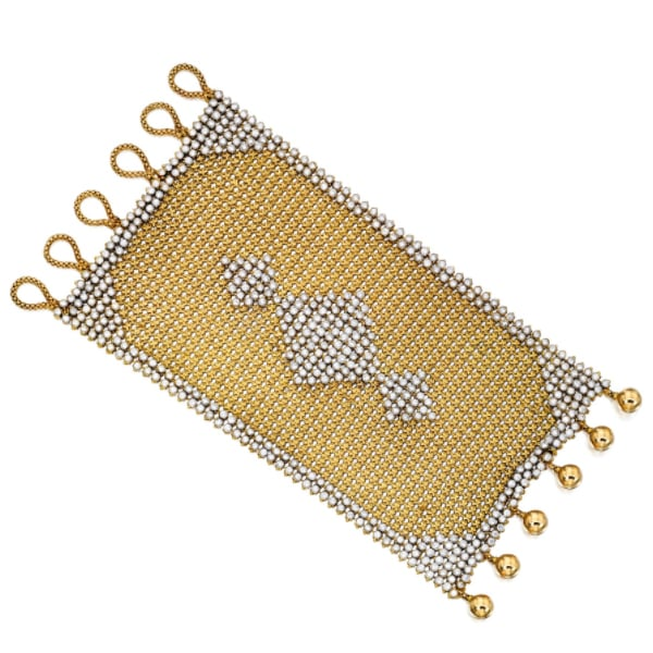 Carvin French Diamond Mesh Bracelet.jpg