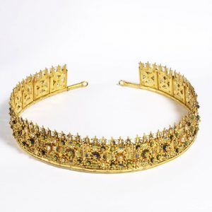 Castellani Yellow Gold Diadem.