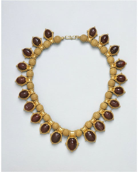 Castellani Scarab Necklace.jpg