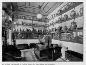 One of the Showrooms from the Castellani Studio at Piazza di Trevi, La Sala Degli Ori Moderni (The Room of Modern Goldwork) Photo Courtesy of Museo Nazionale Etrusco di Villa Giulia.