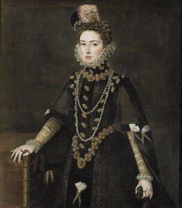 Catalina Micaela de Austria, Duchess of Savoy. c. 1585.