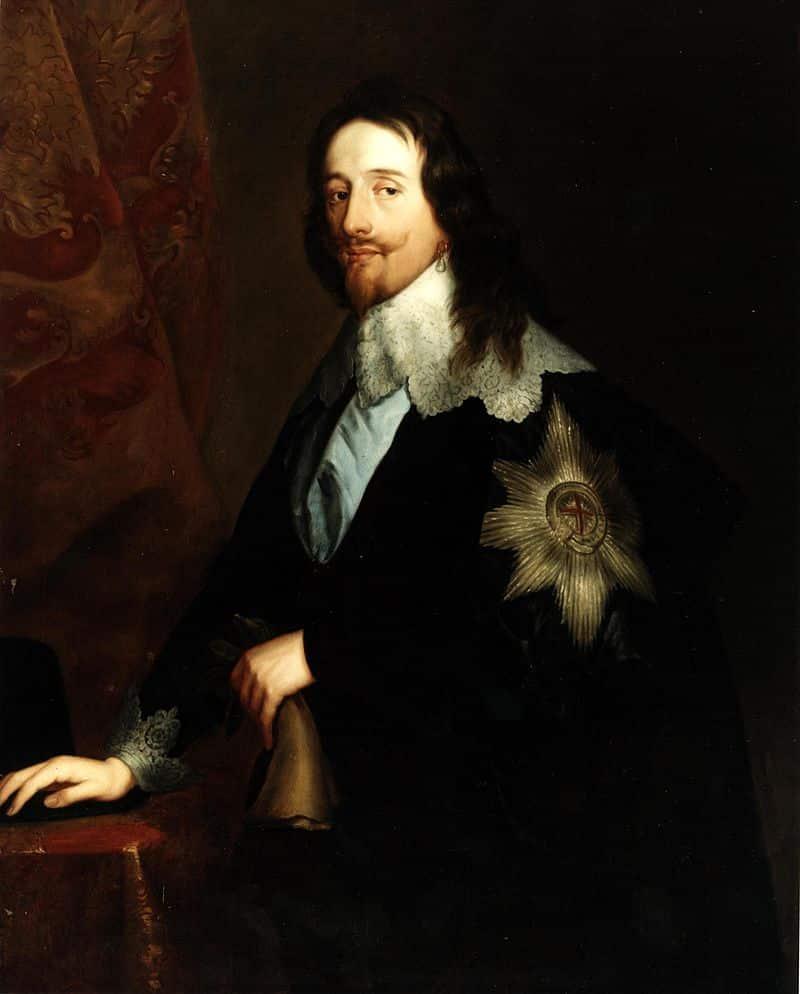 Charles I Pearl Earringg