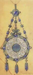 Charles Jacqueau Pendant Design, c.1911.