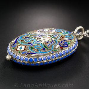 Cloisonne Locket