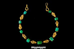 Emerald Necklace from the Treasure of Vaise