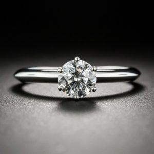 Tiffany & Co. Classic Diamond Engagement Ring.