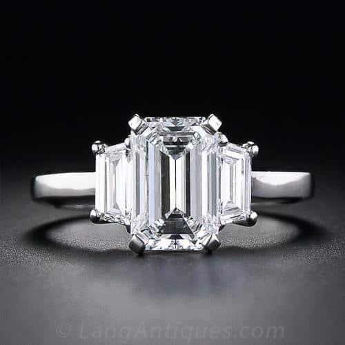 Engagement Rings: A Backward Glance